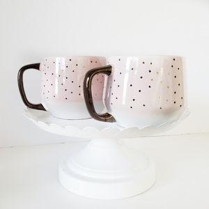 Target Blush Pink Bronze Confetti Mug Set of 2
